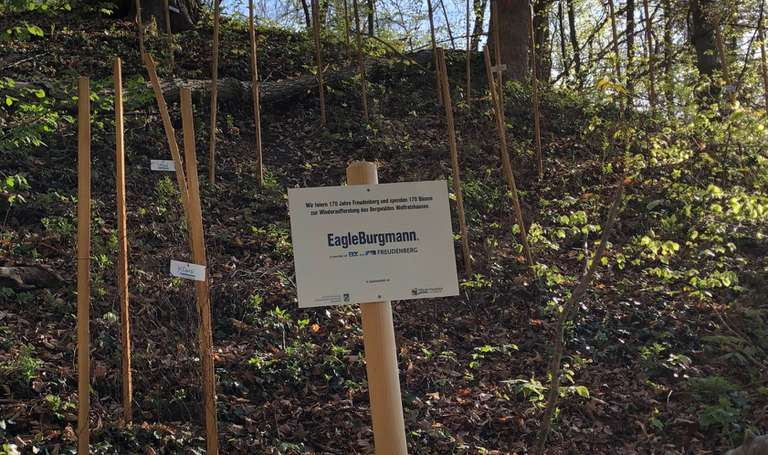 EagleBurgmann plants 170 trees